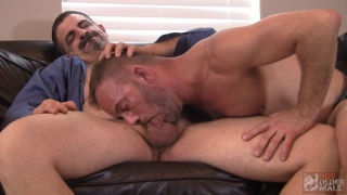 JON WOOF & BRUCE BACCH at hot older male