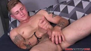 Landon Wells at Broke Straight Boys