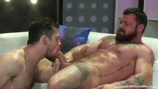 Kurtis Wolfe gets fucked by Sergeant Miles at Raging Stallion