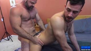 Bishop Angus and Mason Lear fucking at Breed Me Raw
