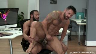 Bruno Bernal and Jay Landford at Raging Stallion