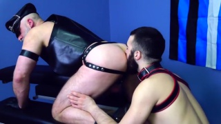My Hung Hairy Daddy at Dark Alley