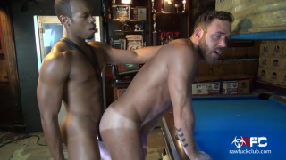 Logan Moore and the Huge Black Cock at Raw Fuck Club