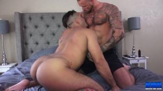 Michael Roman and Trey Turner fucking at Breed Me Raw