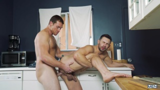 Connor Maguire & Casey Jacks at str8 to gay
