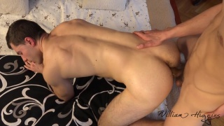 erotic massage with Peter Uman and Tomas Salek at William Higgins