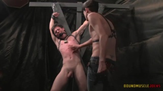 You Will Get Hard Part 1 at Bound Muscle Jocks