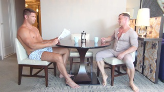 Alexander Volkov & Tyler Roberts at Man Royale