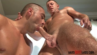 Jack Pierson and Shane Lewis at Hard Brit Lads