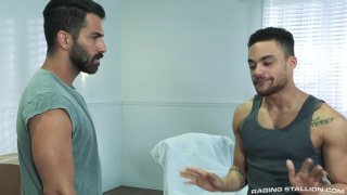 Adam Ramzi and Beaux Banks at Raging Stallion