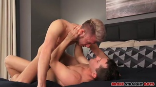 Shawn Andrews and Liam Andrews at Broke Straight Boys