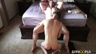Buck Carter and Jonas Drift fucking at Gay Hoopla