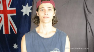 surfer boy Lincoln at All Australian Boys