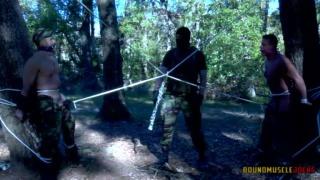 Danger Wood Part 3 at Bound Muscle Jocks