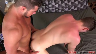 Brad Banks & Tanner Valentino at Broke Straight Boys