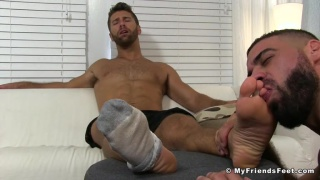 Ricky Larkin & Blayne at My Friends Feet