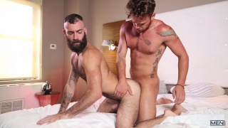 Max Wilde and Stephen Harte at Drill My Hole