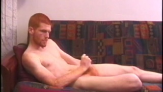 Redhead Tristian Jacking Off at Defiant Boyz