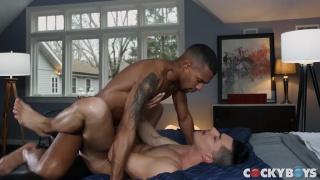 Ethan Slade & Jacen Zhu fucking at Cocky Boys