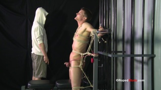 Bondage Session For Interracial Studs
