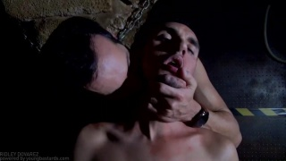 threeway sex with Gabriel Phoenix and Thiago Monte at Young Bastards