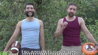 duo andre mark at Island studs