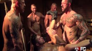 Seth Santoro's Gang Bang - Part 1 at Raw Fuck Club