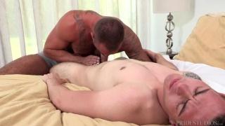 muscle hunk Michael Roman fucks Ryan Kroger at Dylan Lucas