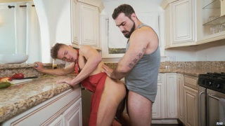 Jake Porter and Jaxton Wheeler at Drill MY Hole