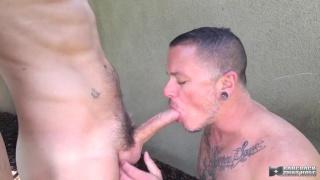 Max Cameron and Danny Blue at Bareback That Hole
