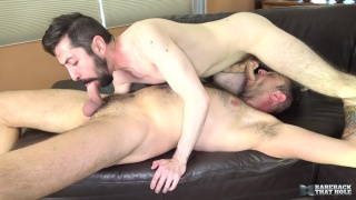 Topher Michels and Geoff Gregorio at bareback that hole