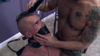 Training Play Part 3 at daddy's bondage boys