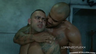 Jason Vario and Lorenzo Flexx at Raging Stallion