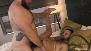 Axel Brandt and Teddy Austin at Stocky Dudes