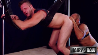 Angel Ferrari and Brian Bonds at Hairy & Raw