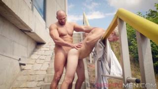 Zack Hood fucks Danny Torro at UK Naked Men