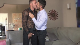Teasing Manuel skye at Gentlemen's Closet