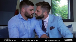 NICOLAS BROOKS & HECTOR DE SILVA at Men at Play