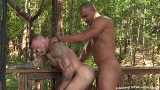 Jason Vario and Sean Duran at Raging Stallion