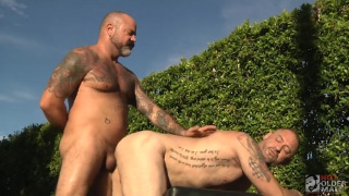 Scotty Rage and D. Arclyte at Hot Older Male