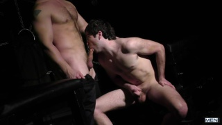 damien pierce and john magnum at drill my hole