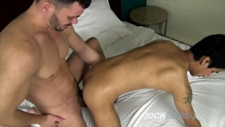 Brogan Reed & Xander James at Jock Pussy