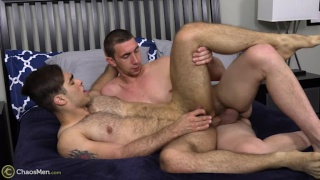 Lucas Leon bottoms for Rydell at Chaos Men