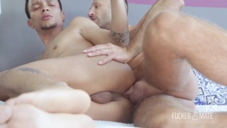 Vadim Romanov and Cesar Paulino fucking at Fuckermate
