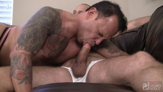MITCH ROBERTS BREEDS TONY SANCHEZ at Hot Older Male
