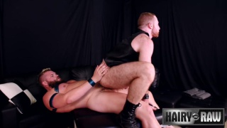 Hank Aarons fucks Sean Knight at Hairy and Raw