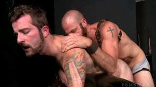 Jay Donahue fucks James Stevens at Extra Big Dicks