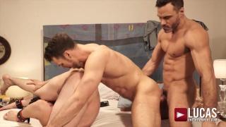 threeway sex with DAKOTA PAYNE, MANUEL SKYE AND BLAZE AUSTIN at Lucas Entertainment