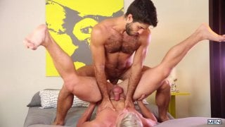 Diego Sans and Jake Porter at Drill My Hole