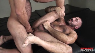 Alessio Romero and Vinnie Stefano at Alphamale Fuckers